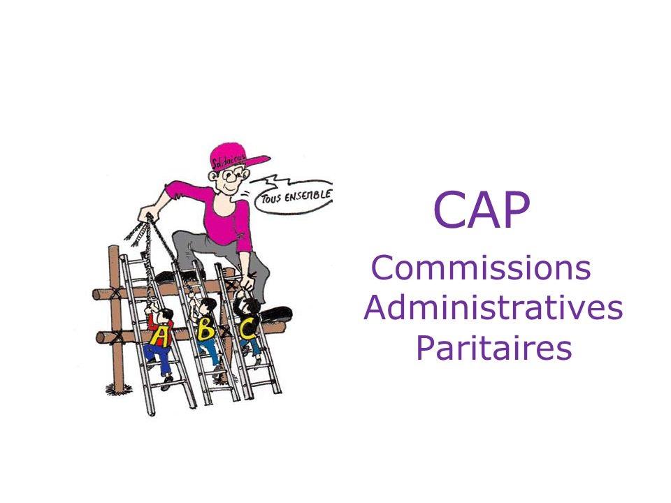 Elections aux. CAP. Commissions Administratives Paritaires.