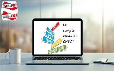 compte-rendu du CHSCT du 25 avril 2019