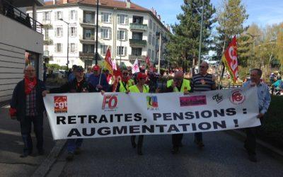 Les retraités dans l'action le 28 septembre