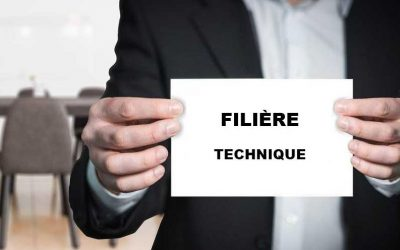 Les cadres d'emploi dans la filière technique